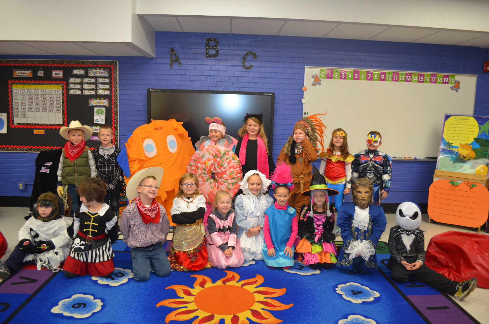 Winchester Schools - Kindergarten Halloween Skit